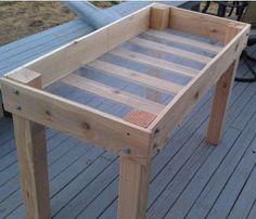DIY Raised Bed Planter Plans