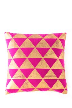 Channeling Moroccan Decor Caravan Square Pillow