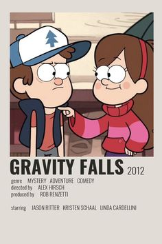 Gravity Falls Poster by Cindy