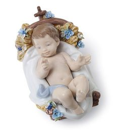 01008347  INFANT JESUS   Issue Year: 2008  Sculptor: Virginia González  Size: 7x8 cm