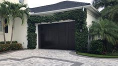 Exterior painting Garage doors stain and clearcoat but Best Way painting in Naples Exterior Doors, Exterior Paint, Exterior Design, Garage Door Paint, Garage Doors, Outdoor Spa, Outdoor Decor, Mediterranean Homes Exterior, Garage Floor Epoxy