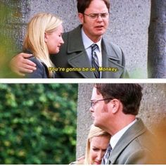 Angela and Dwight Office Gifs, Us Office, The Office Dwight, Office Jokes, Office Fan, Funny Office, Best Of The Office, The Office Show, Movies Showing