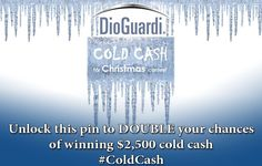 CONTEST HAS ENDED. WINNER TO BE ANNOUNCED SOON. Thank You to everyone who participated. Unlock this pin! Once this pin has reached 150 re-pins, Each Pin will earn you an extra entry into our $2500 Cold Cash for Christmas Contest brought to you by #DioGuardi Tax Law. The more you share this, the more chances you could win. Happy Pinning and Pin Daily!  http://www.dioguardi.ca/contest/