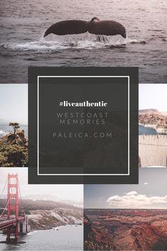 """#liveauthentic - Traveller/Reisender - USA - Westküste/Westcoast - Abenteuer - """"Später ist zu spät"""" - das Leben leben West Coast, Travel Tips, Happiness, Memories, Usa, Movie Posters, Inspiration, Live Life, Too Late"""