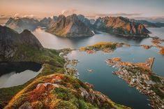 Spend 9 days hiking, glamping and kayaking your way across Norway's incomparable Lofoten Islands. A fully guided arctic adventure with REI Co-op Experiences. Lofoten Islands Norway, Norway Fjords, Norway Places To Visit, Visit Norway, Places To Travel, Places To Go, Travel Route, Usa Travel, Beautiful Norway