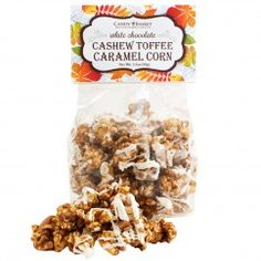 Candy Basket White Chocolate Cashew Toffee Caramel Corn