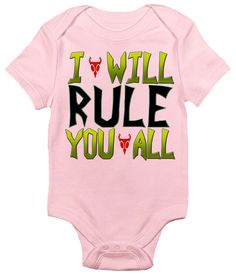 I Will Rule You All Invader Zim One-piece Baby Bodysuit Baby Clothes