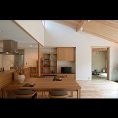 「金衛町の家」庭屋一如・通り土間の家   新潟で自然素材の住宅・無垢の家なら オーガニックスタジオ新潟