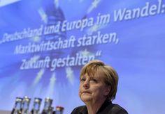 """Merkel beim CDU-Wirtschaftstreffen in Berlin: """"Sehr bedenkliche Entwicklungen"""""""