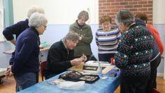 Alan Close teaching Artstream Students at Glen Park Community Centre