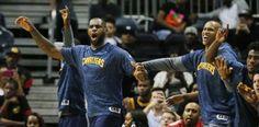 LeBron y los Cavaliers celebraron la victoria de los...