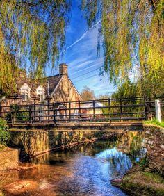 The Bridge Inn at Michaelchurch, Herefordshire.