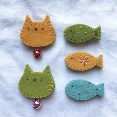 ちいさいもの。の画像 Felt Diy, Cute Crafts, Felt Animals, Needle Felting, Kids Rugs, Crafty, Embroidery, Sewing Ideas, Creative