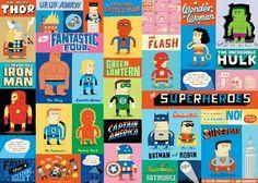 Super Heros by Sugarena