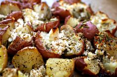 Gojee - Twice-Baked Potatoes with Rosemary & Feta by undefined