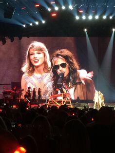 Taylor Swift 1989 Nashville  With guest Steven Tyler