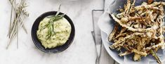 Zucchinifritter med estragon-mayonnaise - BO BEDRE