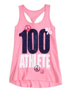 Athletic Twist Back Tank | Girls Shorts Clothes | Shop Justice