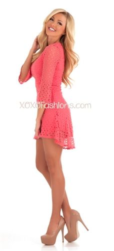this dress is so flirty and cute, love it!!
