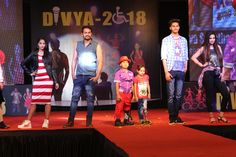 Our differently able luminaries walked the ramp with calipers in the next round. They boldly stormed the runway with their zeal and confidence. Their courage is an inspiration for all. #Divya2018 #Surat #Calipers #TalentOnCalipers