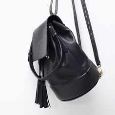 BUCKET BACKPACK WITH TASSEL-View all-Handbags-WOMAN | ZARA United States