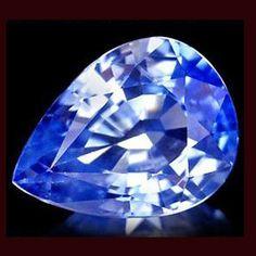 Kaschmir blauer Saphir im Tropfenschliff mit 1.99 Karat