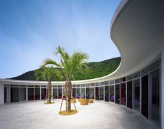 UTOCO Hôtel and centre of thalassothérapie project of Mr. Shu Uemura design by Ciel Rouge Création