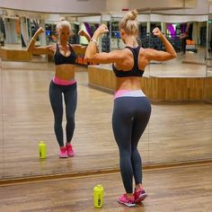 fitness-is-pink: ♥Alexandra Bring♥ Body Inspiration, Fitness Inspiration, Workout Inspiration, Alexandra Bring, Home Exercise Routines, Diet Exercise, Sport Body, Weights For Women, Womens Workout Outfits