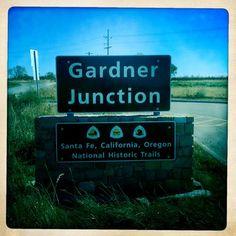 Gardner Junction, Kansas. Where pathways meet