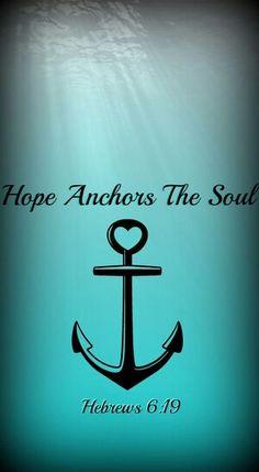 Ideas For Tattoo Quotes Anchor Jesus Future Tattoos, Love Tattoos, Body Art Tattoos, New Tattoos, Tatoos, Faith Tattoos, Ring Tattoos, Tattoo Arm, Anchor Quotes