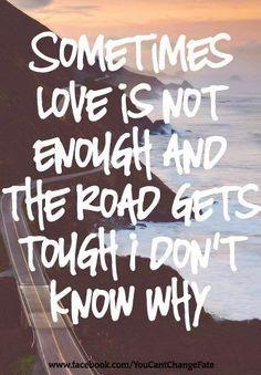 it wasn't even love