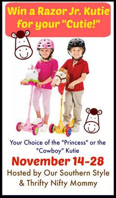 With the Razor Jr. Kutie, there are two ways to have fun! Cruise the sidewalks, then go off the beaten path, turning your scooter into a hobby horse!