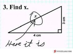 Funny Student Essays, Test Answers and Drawings