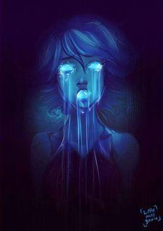 Amazing Lapis Lazuli art! Steven Universe. (Credit to the artist!!)