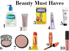 Beauty Must Haves - The Girl, The Glitter, & The Gelding