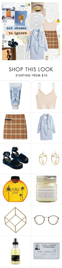 """all the things i've seen"" by www-purrtydino-org ❤ liked on Polyvore featuring Sisley, Louise Paris, Tory Burch, H&M, Sephora Collection, Brooklyn Candle Studio, Shihara, Linda Farrow, Davines and Lucky Brand"