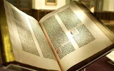 1455 – 1456 Johannes Gutenberg, working with merchant and money-lender Johann Fust and printer Peter Schöffer, completed printing the Bible (Gutenberg Bible), the first book printed in Europe from movable type. Johannes Gutenberg, Weird English Words, Ap English, English Class, Most Expensive Book, Die Revolution, Ap Language, English Language, Books