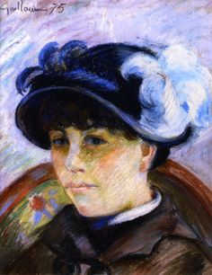 Portrait of a Young Woman, by Jean Baptiste Armand Guillaumin (French, 1841-1927)