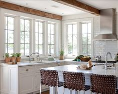 Classic Shingle Beach Cottage with Neutral Interiors