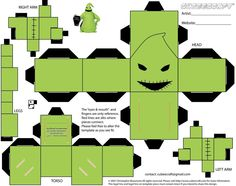 Oogie Boogie Cubee by RequestMaster.deviantart.com