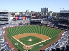 Yankee stadium, the sports epicenter of my world