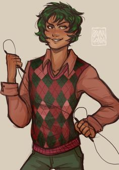 Alex Fierro (Why are all loki realted things perfect? Percy Jackson Crossover, Percy Jackson Fan Art, Percy Jackson Books, Percy Jackson Fandom, Magnus Chase, Rick Riordan Series, Rick Riordan Books, Solangelo, Percabeth