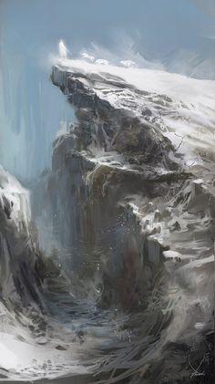 Cliff by Kobempire
