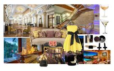 """""""Mansion Party"""" by dreamer4ever ❤ liked on Polyvore featuring moda, Eva Solo, Massoud, Marc Jacobs, LUMO, Chanel, Chicnova Fashion ve Crate and Barrel"""
