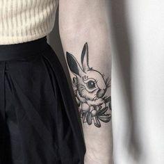 60 tatuajes de conejo increíble para que usted pueda inspirar - http://tatuajeclub.com/2016/06/01/60-tatuajes-de-conejo-increible-para-que-usted-pueda-inspirar.html