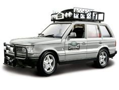 The Burago Range Rover in silver is a diecast model car kit from this fantastic manufacturer in 1/24th scale. Build them, display them, collect them. Bburago's range of 1/24 scale die cast kits give you the chance to build your own super car or even a classic car. With a fully painted die cast metal body and coloured plastic detailing parts these kits will make up into a model you will want to display.