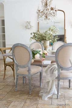 67 ideas painted furniture french country annie sloan for 2019 French Country Rug, French Country Furniture, French Country Kitchens, French Country Bedrooms, Country Farmhouse Decor, French Decor, French Country Decorating, Painted Furniture French, French Country Dining Room