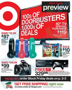 Target Black Friday 2014 Ad ★ Shop and ship with #borderlinx ★