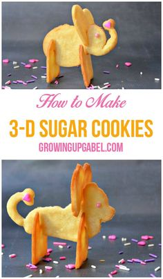 Learn how to make 3-D sugar cookies from Growing Up Gabel. This adorable (and tasty!) dessert idea is perfect for an animal-themed birthday celebration or baby shower.