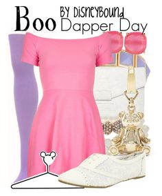 Boo by leslieakay on Polyvore featuring polyvore, fashion, style, Motel, Not Rated, Witchery, Talullah Tu, BaubleBar, FOSSIL, Kate Spade, Disney and clothing